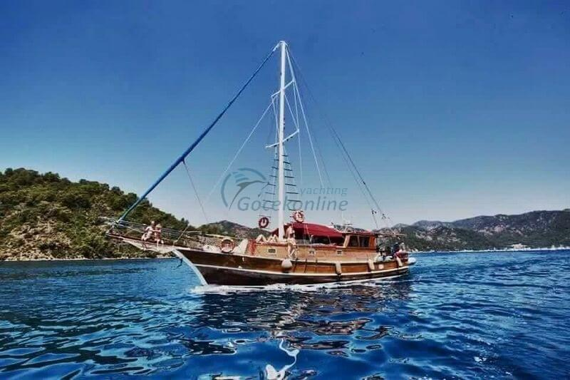 Our boat, which is 49.2 feet feet, offers blue cruise service with its crew including fuel in Fethiye region.