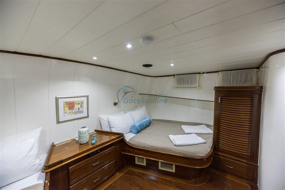 Faralya stands out as a Luxury alternative for you and your friends to enjoy the sea, sun and wind.
