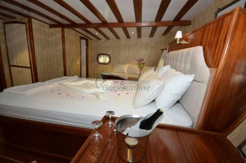 Our boat, which has comfortable and wide living spaces, is especially preferred by crowded groups.