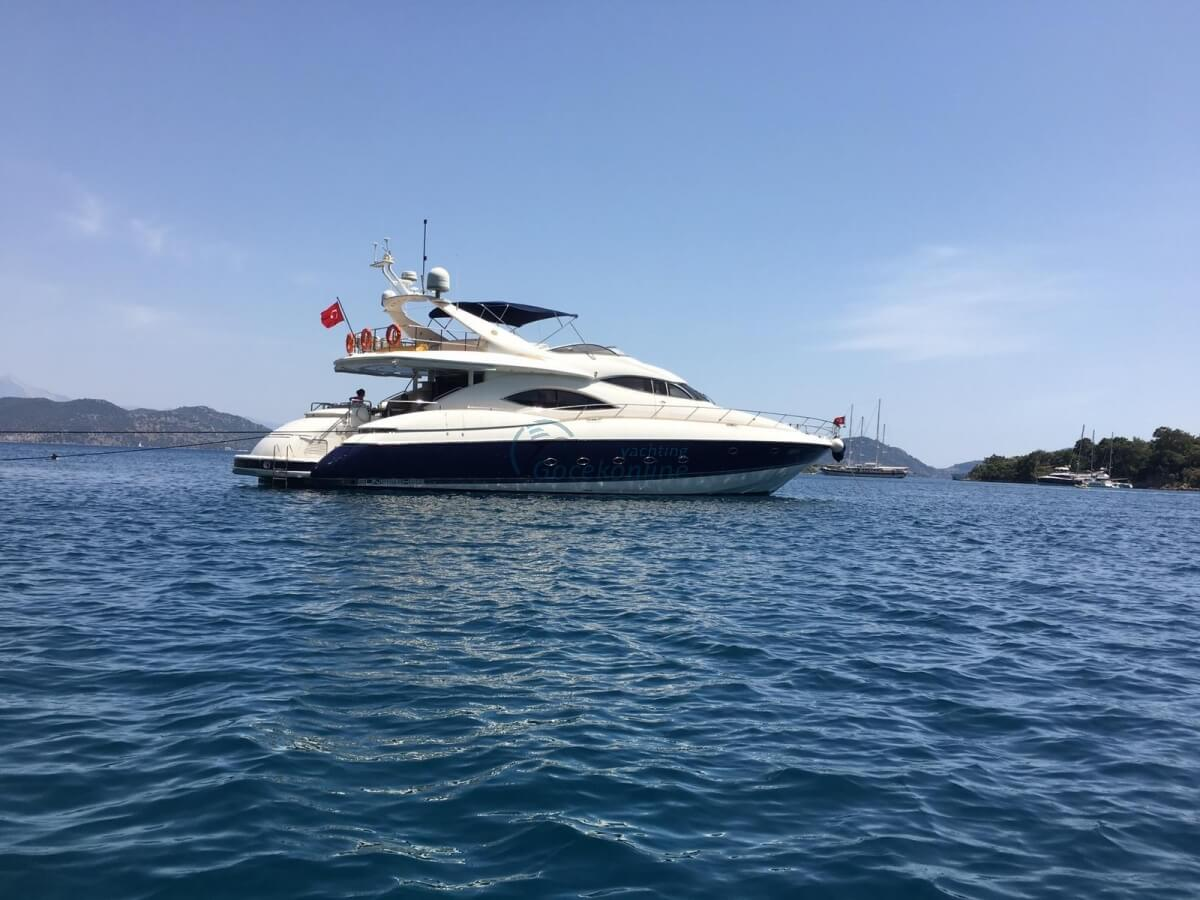 Sunseeker Manhattan 80 Vogue teknesi